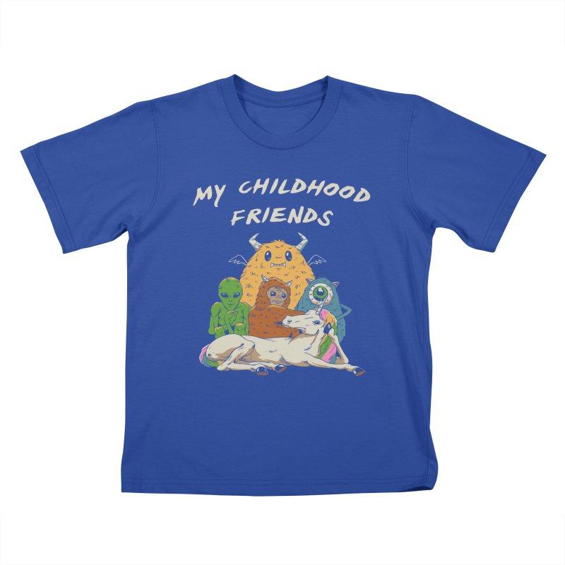 Imaginary Friends Club Kids T-Shirt by Vincent Trinidad Art