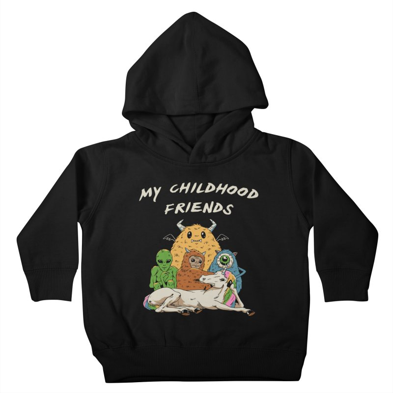 Imaginary Friends Club Kids Toddler Pullover Hoody by Vincent Trinidad Art