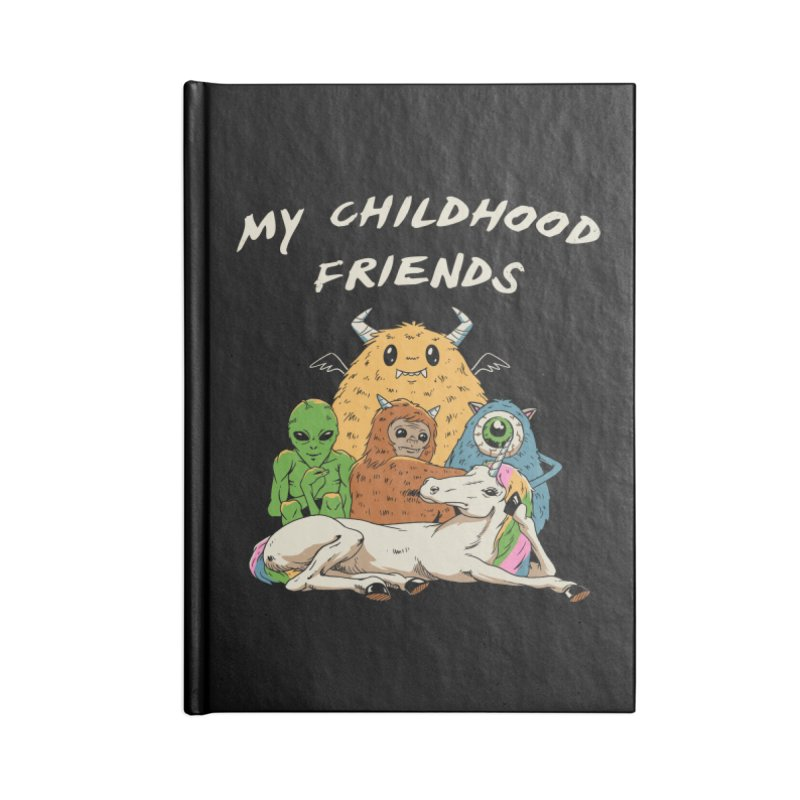 Imaginary Friends Club Accessories Blank Journal Notebook by Vincent Trinidad Art