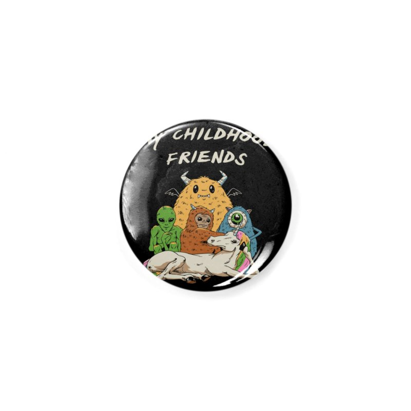 Imaginary Friends Club Accessories Button by Vincent Trinidad Art