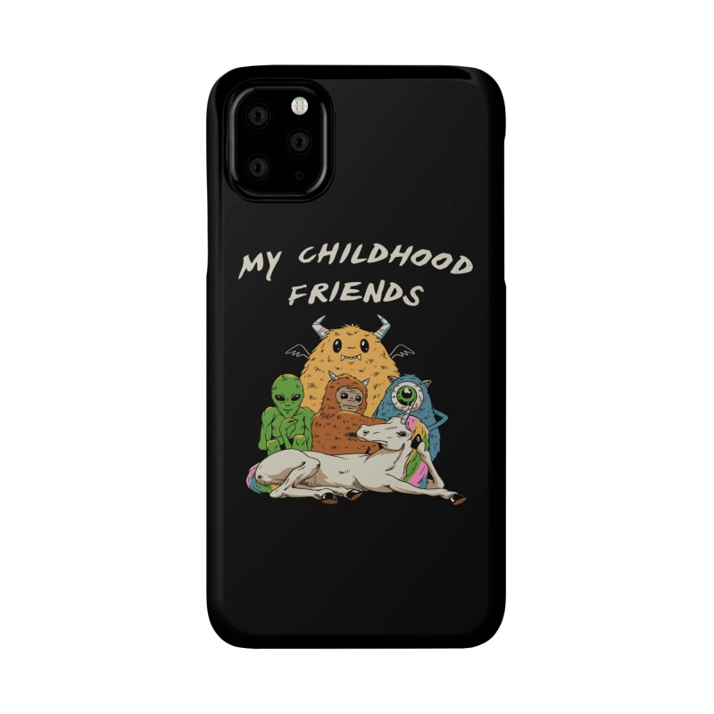 Imaginary Friends Club Accessories Phone Case by Vincent Trinidad Art