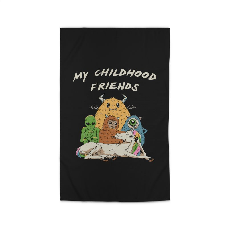 Imaginary Friends Club Home Rug by Vincent Trinidad Art