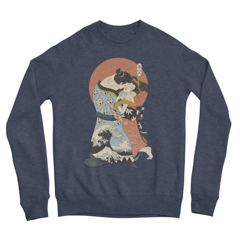 The Kiss Ukiyo-e Women's Sponge Fleece Sweatshirt by Vincent Trinidad Art