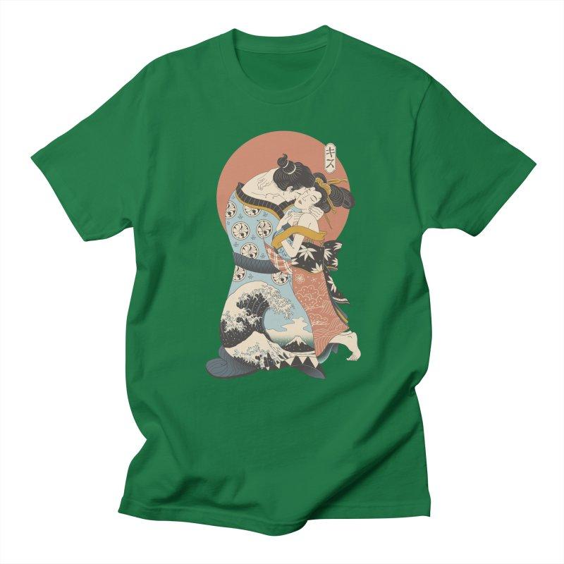 The Kiss Ukiyo-e Men's Regular T-Shirt by Vincent Trinidad Art