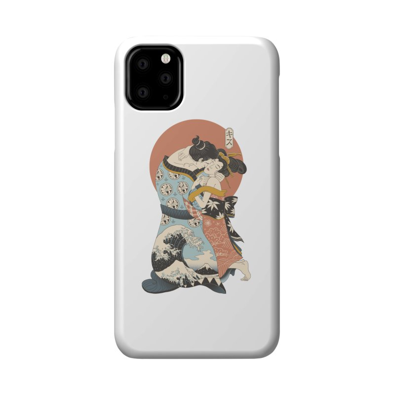 The Kiss Ukiyo-e Accessories Phone Case by Vincent Trinidad Art