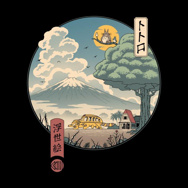 Neighbor's Ukiyo e Accessories Sticker by Vincent Trinidad Art