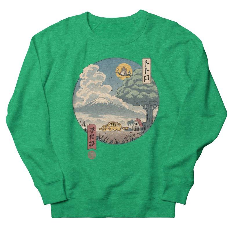 Neighbor's Ukiyo e Men's French Terry Sweatshirt by Vincent Trinidad Art