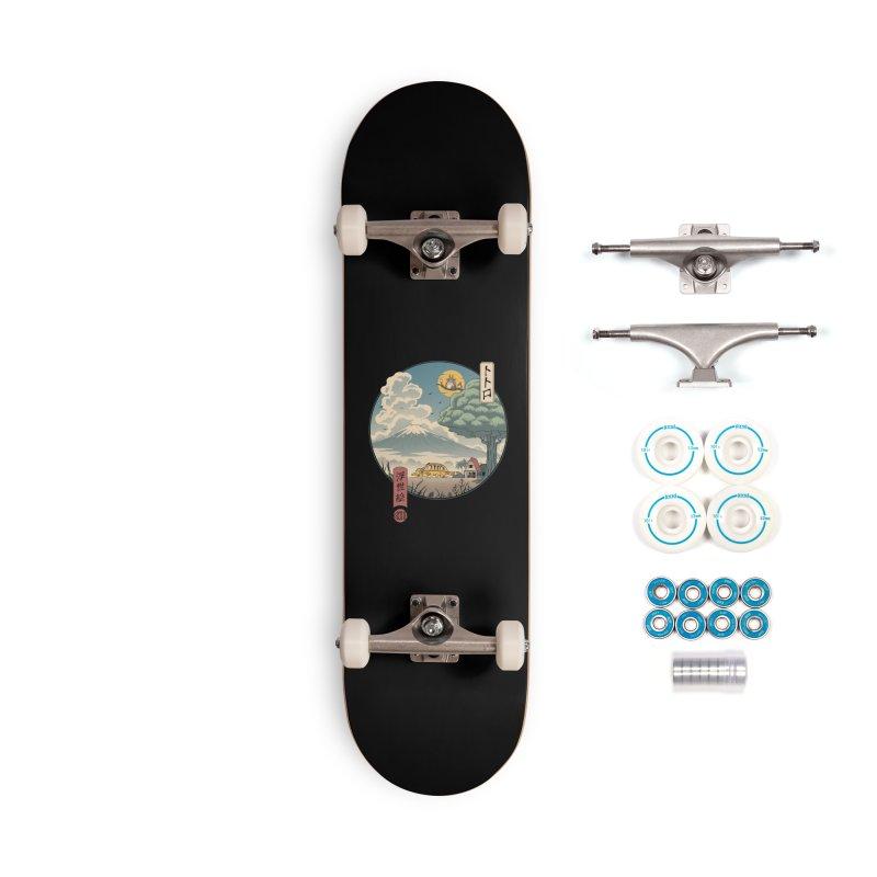 Neighbor's Ukiyo e Accessories Complete - Basic Skateboard by Vincent Trinidad Art
