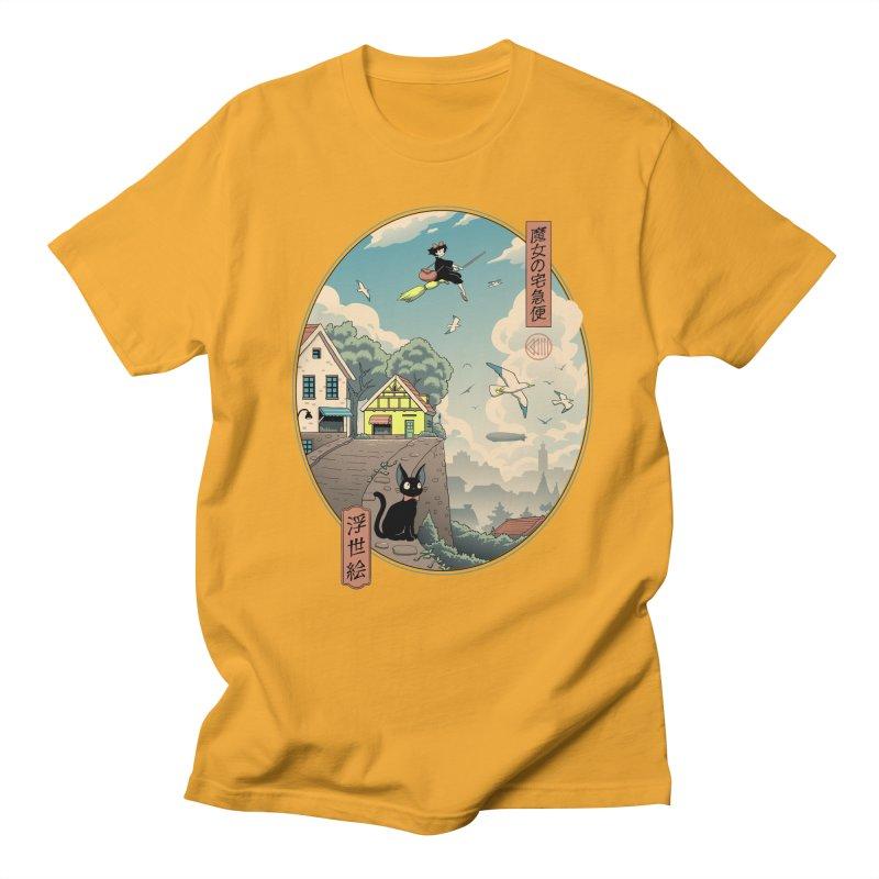 Ukiyo-e Delivery Men's Regular T-Shirt by Vincent Trinidad Art