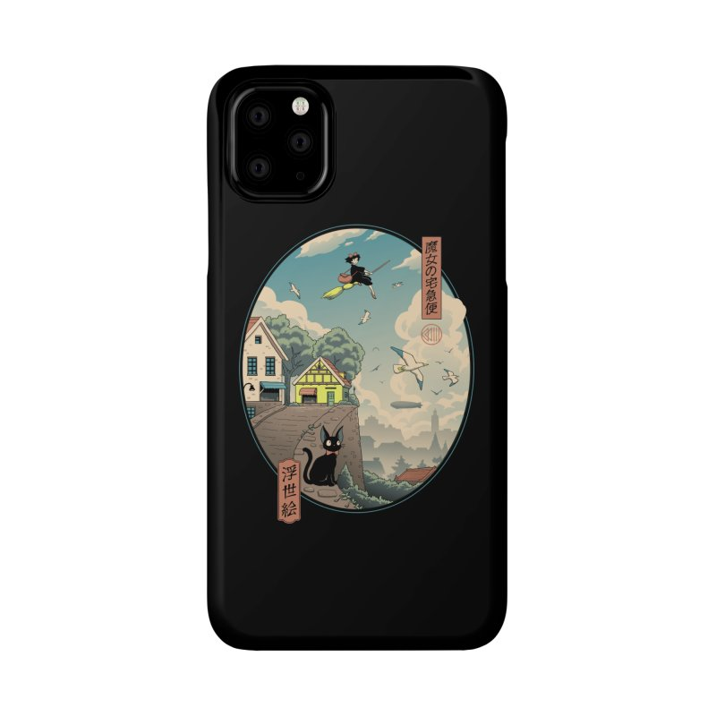 Ukiyo-e Delivery Accessories Phone Case by Vincent Trinidad Art