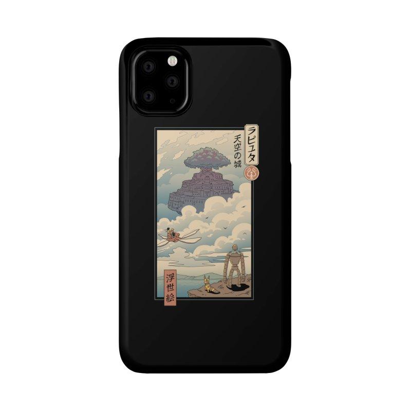 Sky Castle Ukiyo e Accessories Phone Case by Vincent Trinidad Art