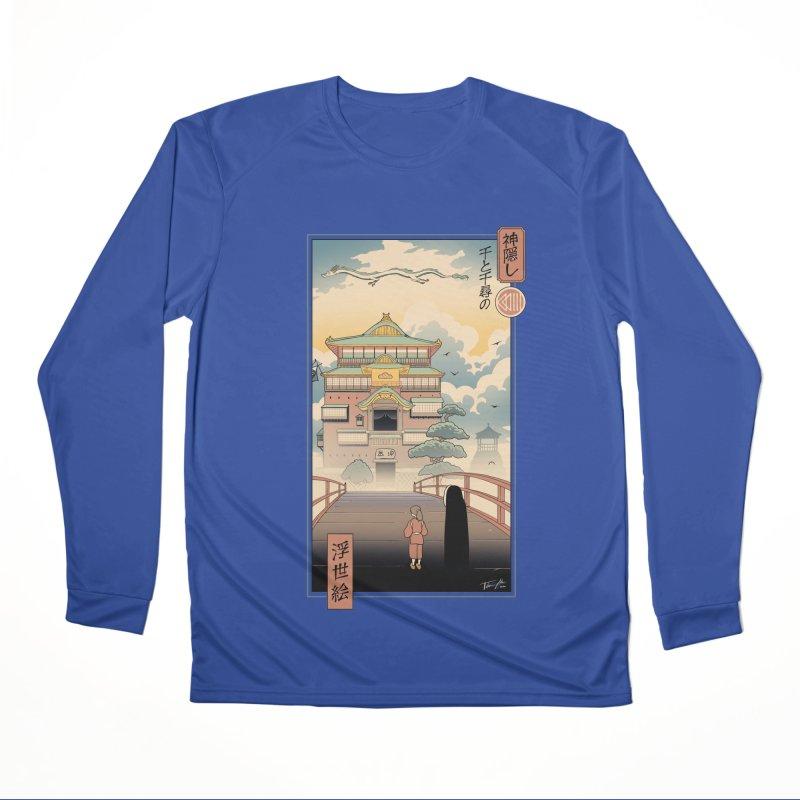Ukiyo-e Spirits Women's Performance Unisex Longsleeve T-Shirt by Vincent Trinidad Art