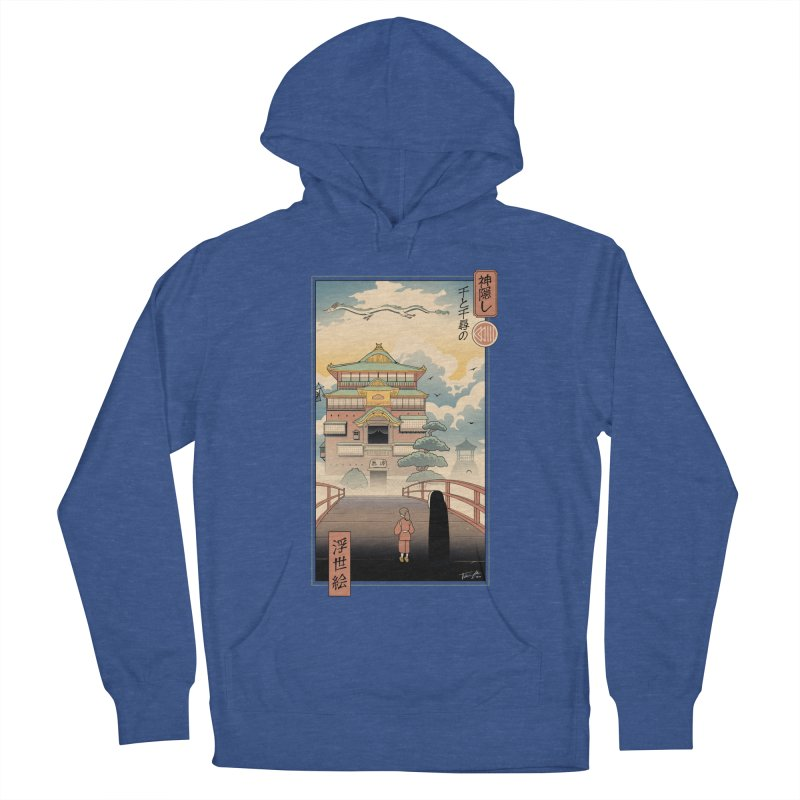Ukiyo-e Spirits Men's French Terry Pullover Hoody by Vincent Trinidad Art