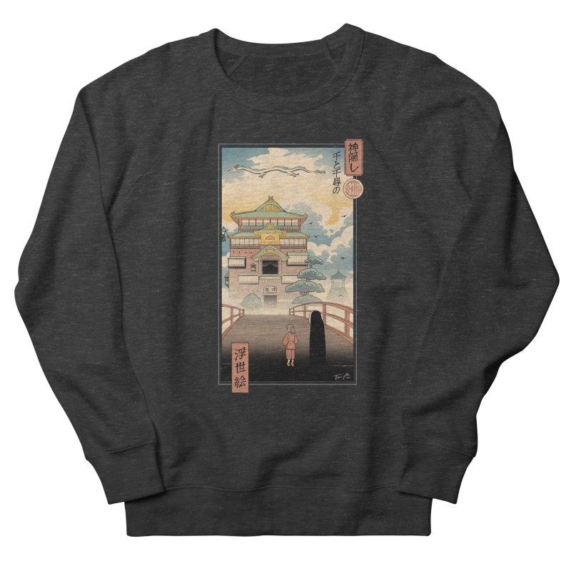 Ukiyo-e Spirits Men's French Terry Sweatshirt by Vincent Trinidad Art