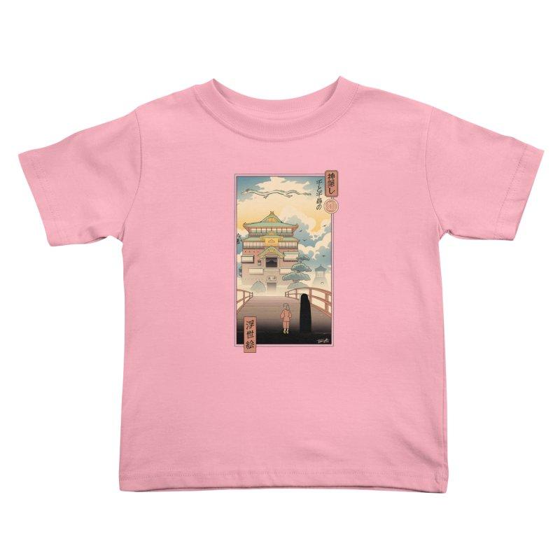 Ukiyo-e Spirits Kids Toddler T-Shirt by Vincent Trinidad Art