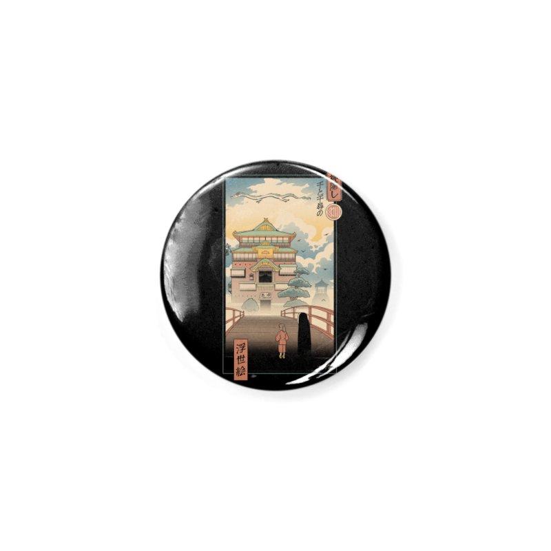 Ukiyo-e Spirits Accessories Button by Vincent Trinidad Art