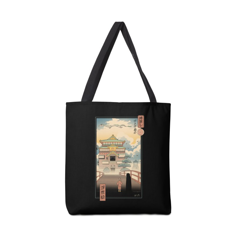 Ukiyo-e Spirits Accessories Tote Bag Bag by Vincent Trinidad Art