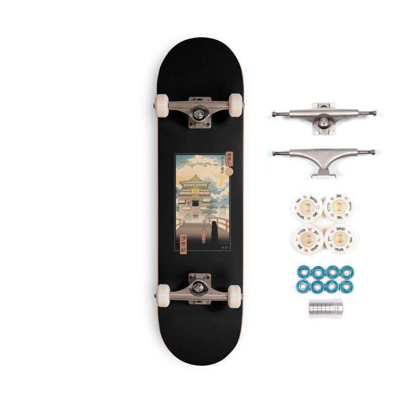 Ukiyo-e Spirits Accessories Complete - Premium Skateboard by Vincent Trinidad Art
