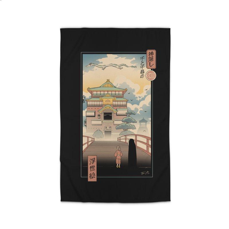 Ukiyo-e Spirits Home Rug by Vincent Trinidad Art