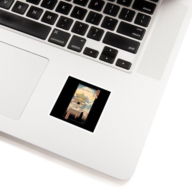 Ukiyo-e Spirits Accessories Sticker by Vincent Trinidad Art