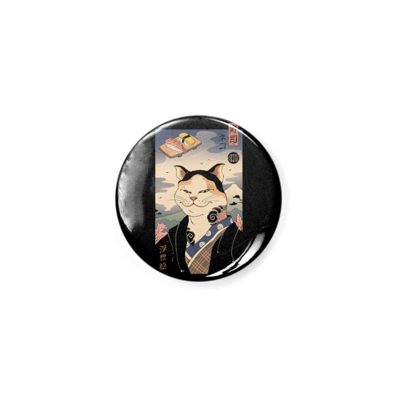 Nekoyo-e Accessories Button by Vincent Trinidad Art