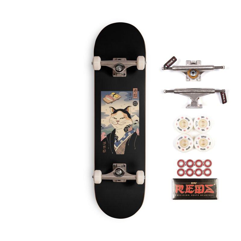 Nekoyo-e Accessories Complete - Pro Skateboard by Vincent Trinidad Art