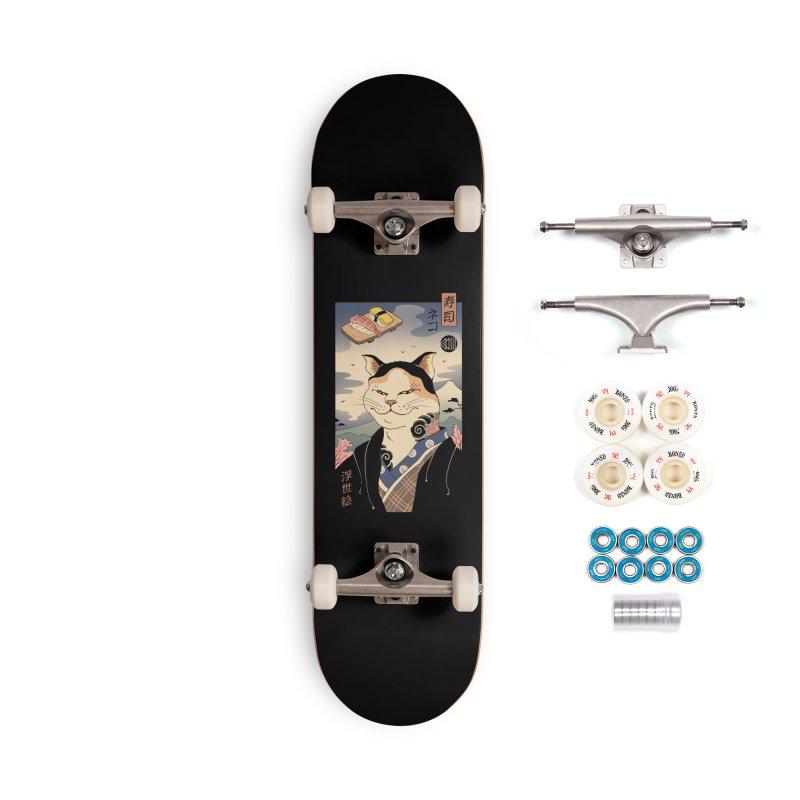 Nekoyo-e Accessories Complete - Premium Skateboard by Vincent Trinidad Art