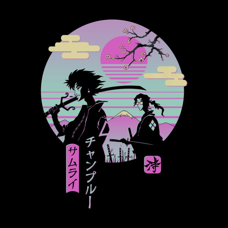 Samurai Chillhop Men's Sweatshirt by Vincent Trinidad Art