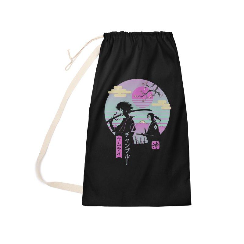 Samurai Chillhop Accessories Bag by Vincent Trinidad Art