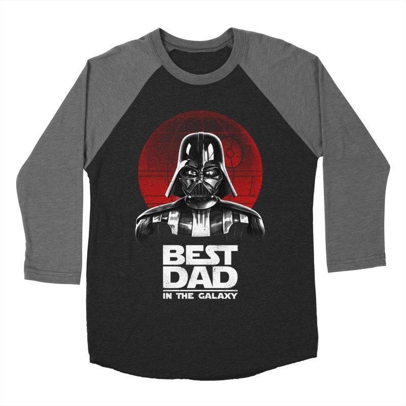 Best Dad in the Galaxy Women's Baseball Triblend T-Shirt by vincenttrinidad's Artist Shop