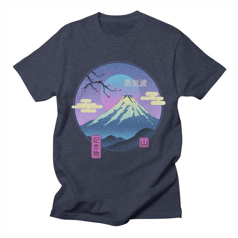 Vapor Landscape Men's T-Shirt by Vincent Trinidad Art
