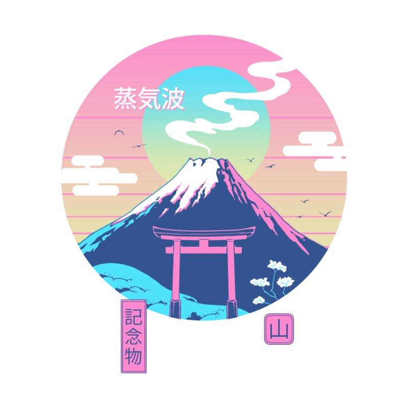 Fuji Wave Men's T-Shirt by Vincent Trinidad Art