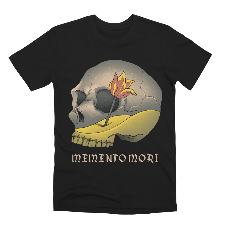 Memento Mori Men's T-Shirt by Vincent Trinidad Art