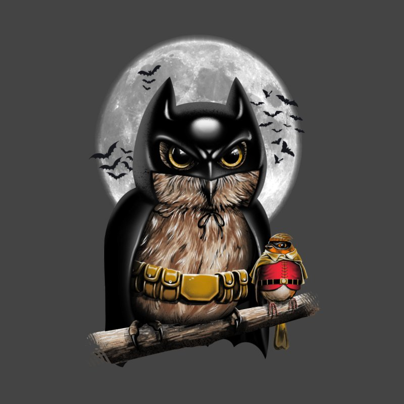Knight Owl Men's Baseball Triblend T-Shirt by vincenttrinidad's Artist Shop