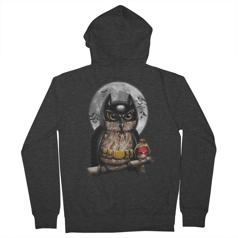Knight Owl Men's Zip-Up Hoody by vincenttrinidad's Artist Shop
