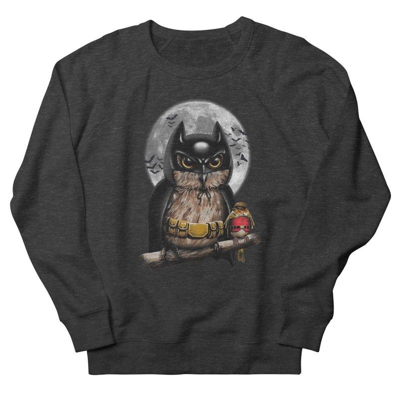 Knight Owl Men's Sweatshirt by vincenttrinidad's Artist Shop