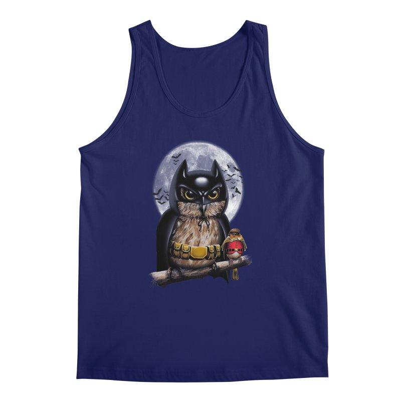 Knight Owl Men's Tank by vincenttrinidad's Artist Shop