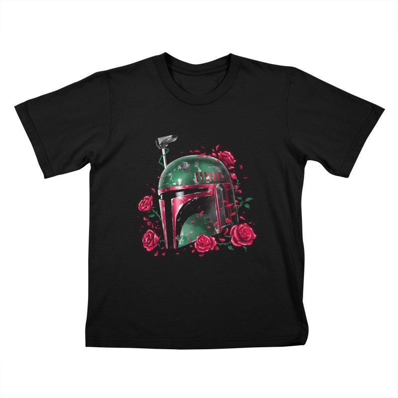 Phantom of the Empire Fett Kids T-shirt by vincenttrinidad's Artist Shop