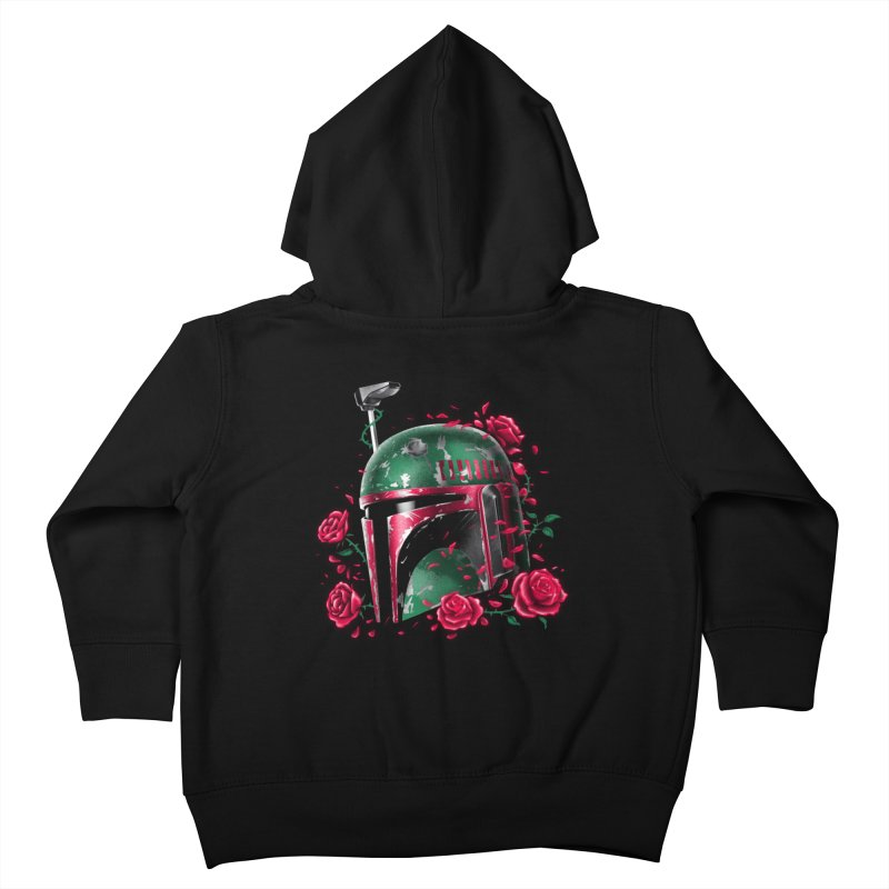 Phantom of the Empire Fett Kids Toddler Zip-Up Hoody by vincenttrinidad's Artist Shop