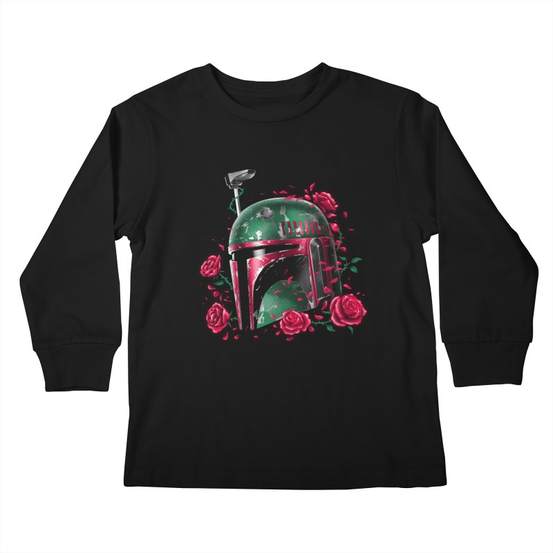 Phantom of the Empire Fett Kids Longsleeve T-Shirt by vincenttrinidad's Artist Shop