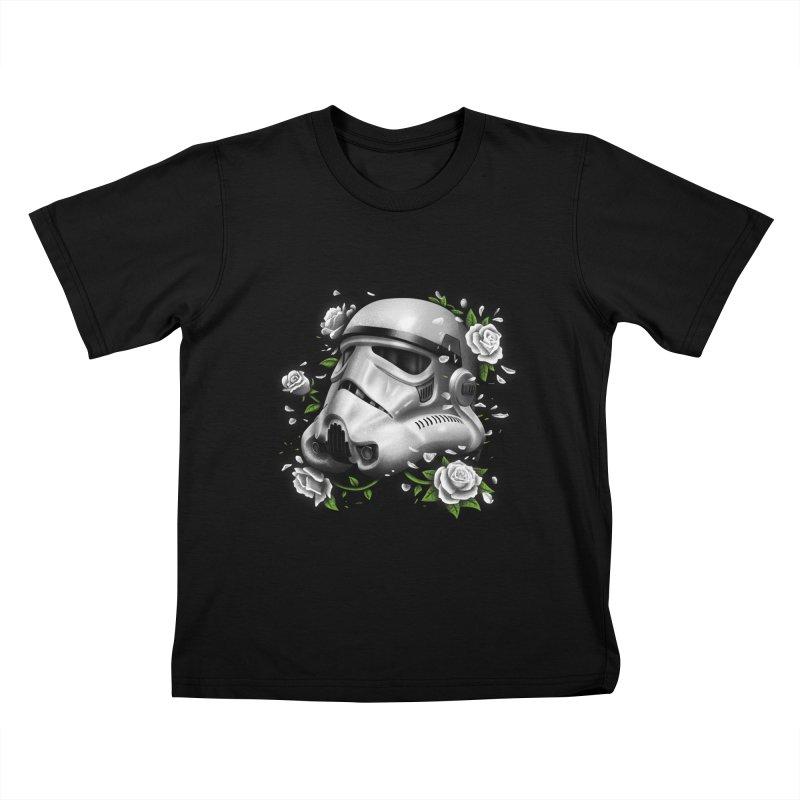 Phantom of the Empire Trooper Kids T-shirt by vincenttrinidad's Artist Shop