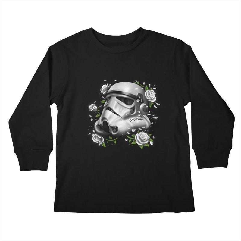 Phantom of the Empire Trooper Kids Longsleeve T-Shirt by vincenttrinidad's Artist Shop