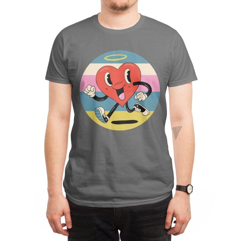 Grateful Heart Men's T-Shirt by Vincent Trinidad Art