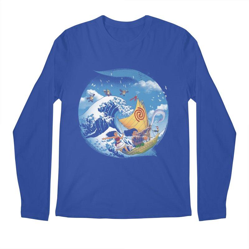 A Tropical Journey Men's Longsleeve T-Shirt by vincenttrinidad's Artist Shop