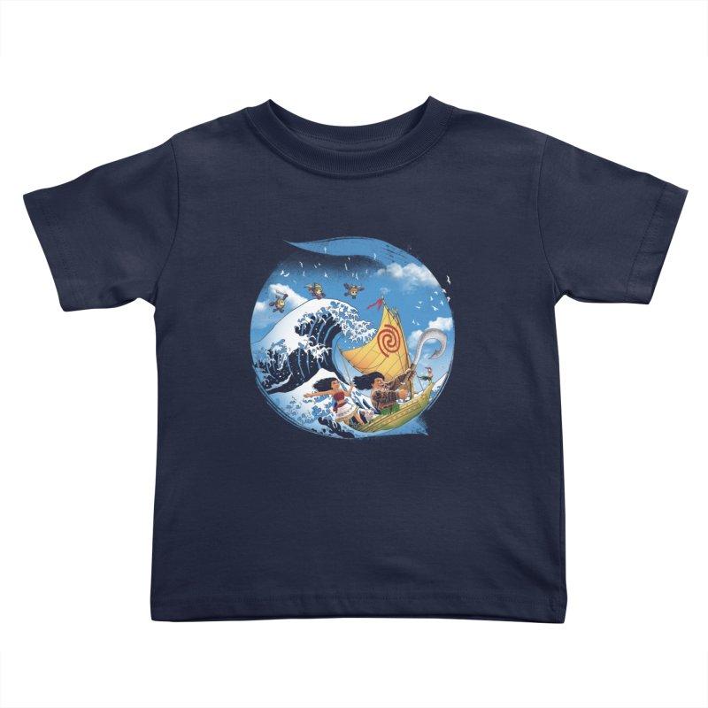 A Tropical Journey Kids Toddler T-Shirt by vincenttrinidad's Artist Shop