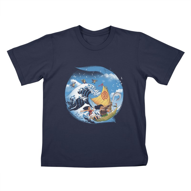 A Tropical Journey Kids T-shirt by vincenttrinidad's Artist Shop