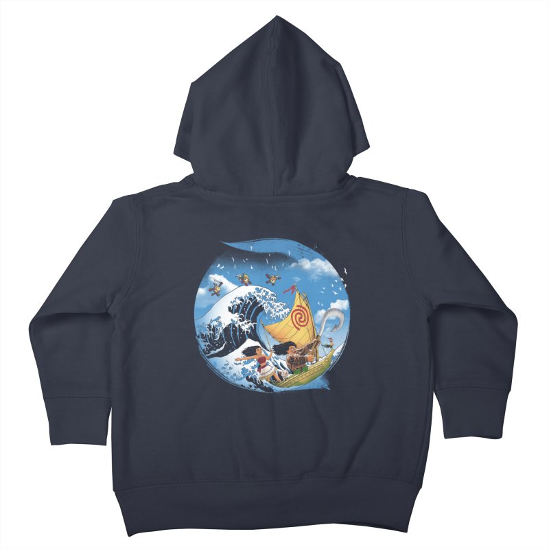 A Tropical Journey Kids Toddler Zip-Up Hoody by vincenttrinidad's Artist Shop