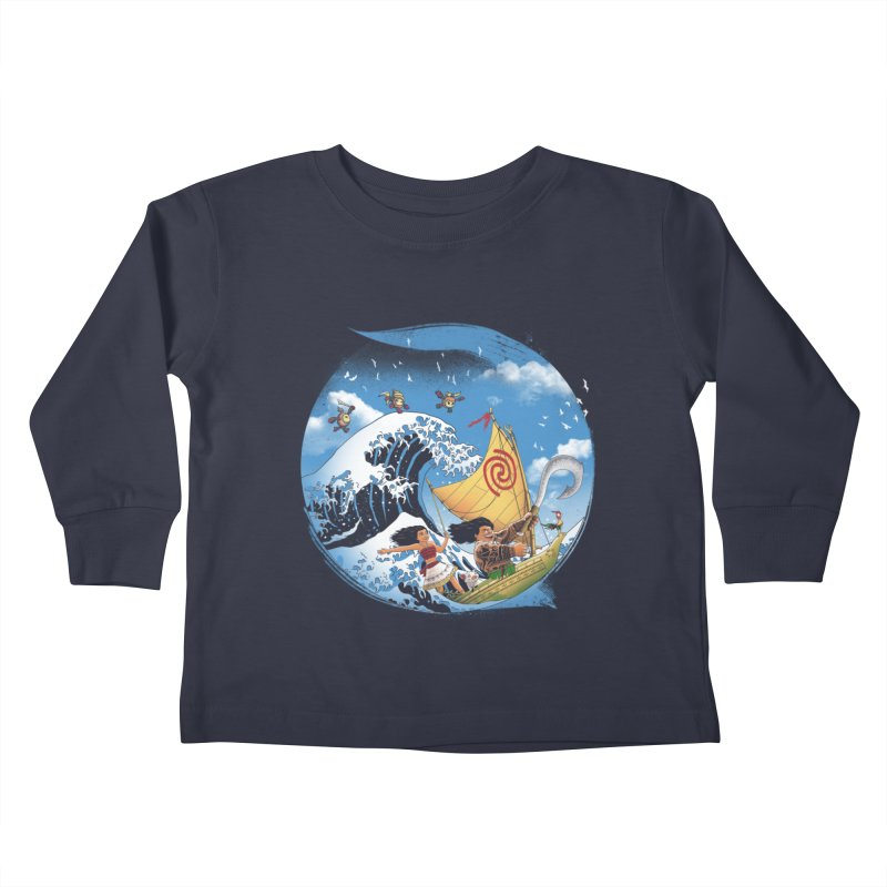 A Tropical Journey Kids Toddler Longsleeve T-Shirt by vincenttrinidad's Artist Shop