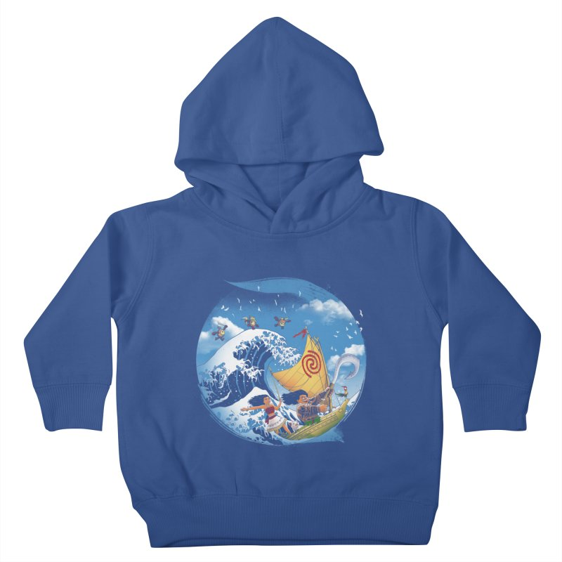 A Tropical Journey Kids Toddler Pullover Hoody by vincenttrinidad's Artist Shop