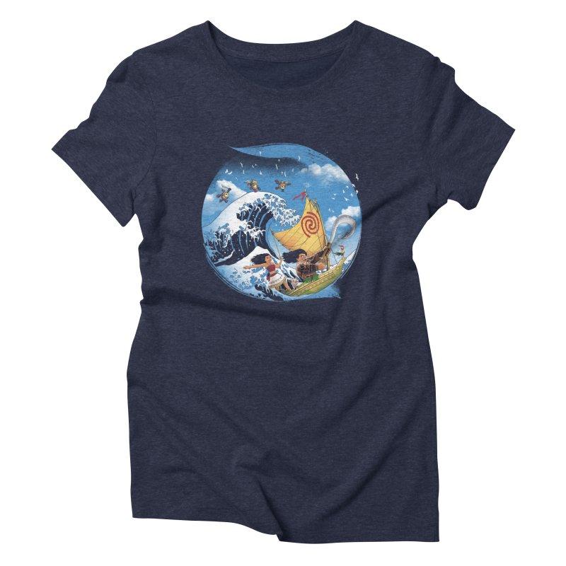 A Tropical Journey Women's Triblend T-shirt by vincenttrinidad's Artist Shop